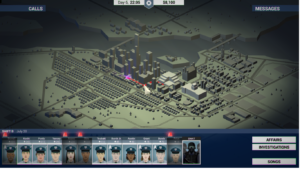 A City map Overview of This is the Police
