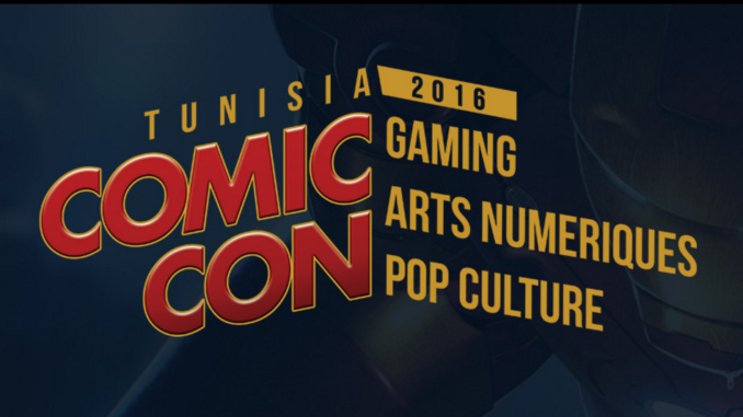 Tunisia ComiCon 2016