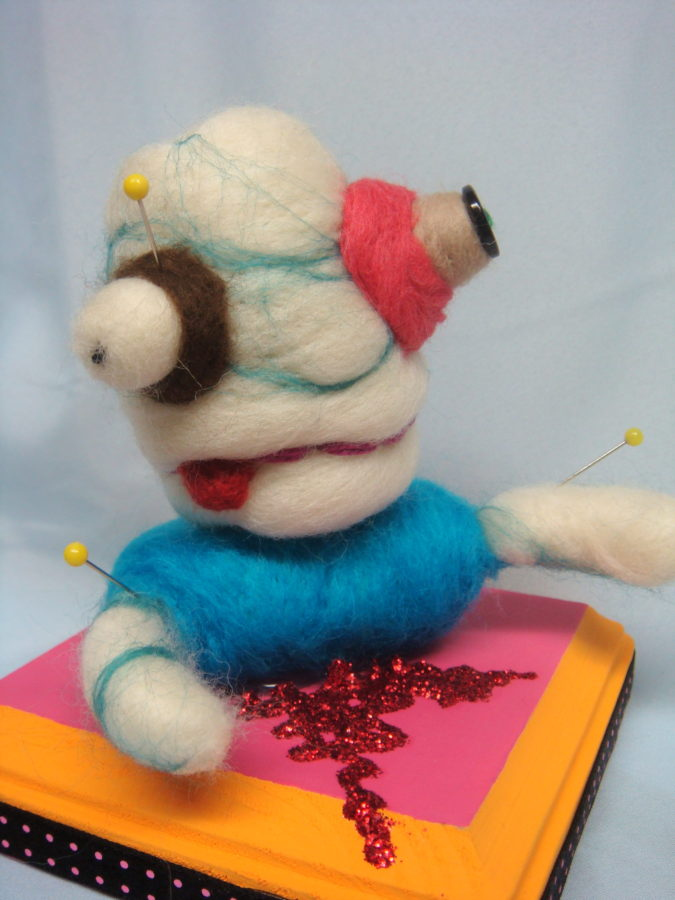 Felted creation